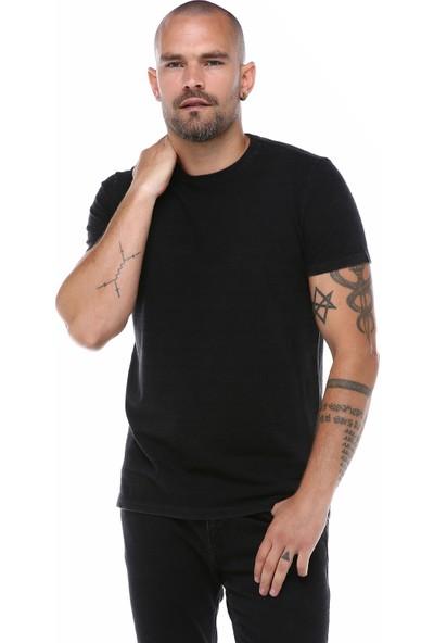 Port Royale Erkek Korsan Armalı İndigo T-Shirt