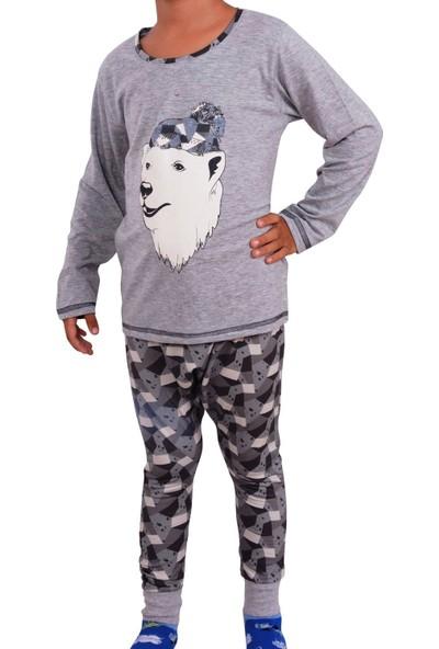 Nicoletta Erkek Çocuk Pijama Takımı Uzun Kollu Pamuk