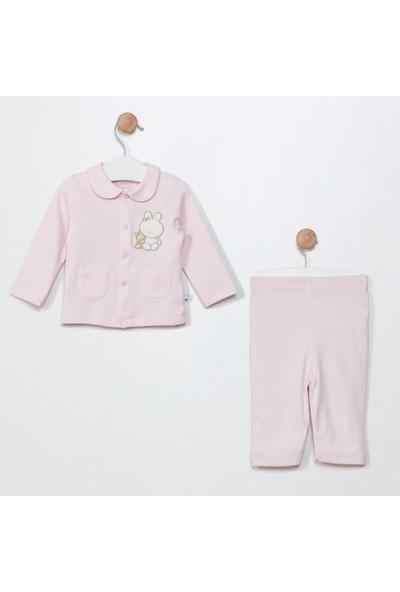 Funna Baby Ceket Pantolon - Grande Famiglia - Pembe