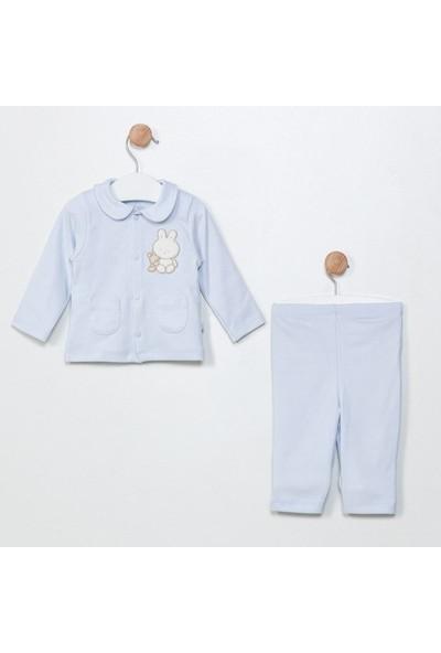 Funna Baby Ceket Pantolon - Grande Famiglia - Mavi