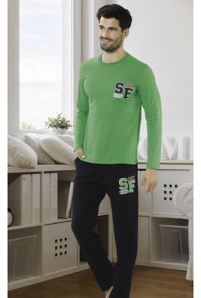 Hmd Erkek Uzun Kol Pijama Takımı