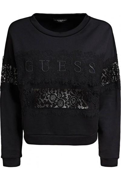 Guess W93Q54K7Ex0 Kadın Sweatshirt