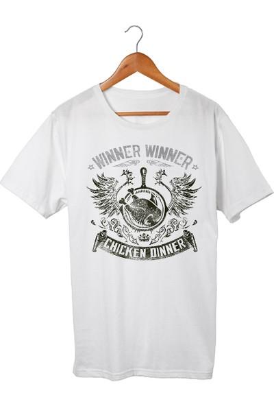 Muggkuppa Pubg Çocuk Beyaz T-Shirt
