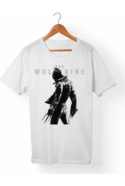 Muggkuppa Wolverine Logan Çocuk Beyaz T-Shirt