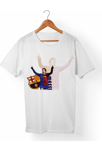 Muggkuppa Messi Çocuk Beyaz T-Shirt
