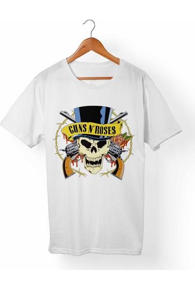 Muggkuppa Guns N Roses Çocuk Beyaz T-Shirt