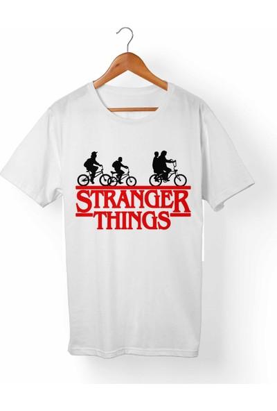 Muggkuppa Stranger Things Çocuk Beyaz T-Shirt