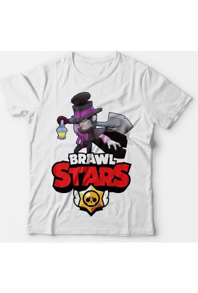 Muggkuppa Brawl Stars Mortis Çocuk Beyaz T-Shirt