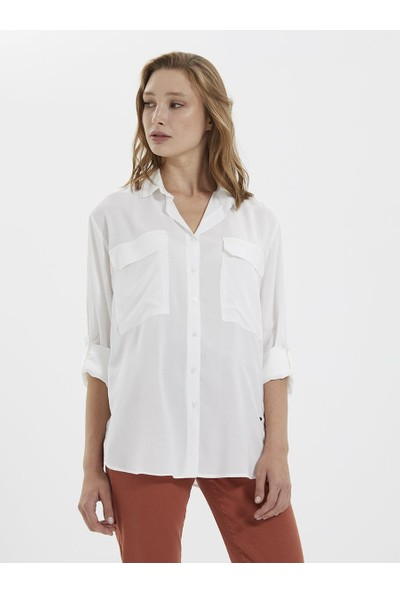 Loft 2022180 Kadın Shirt Long Sleeve