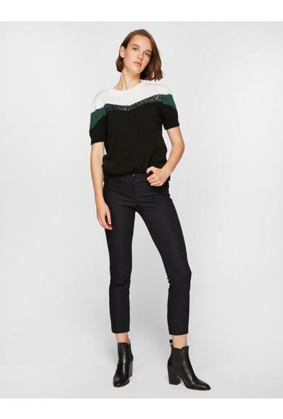 Faik Sönmez Kadın Normal Bel Slim Fit Pantolon 39056