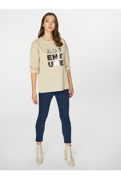 Faik Sönmez Kadın Sweatshirt 39556