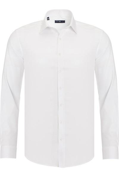 Paşahan Erkek Slim Fit Klasik Gömlek