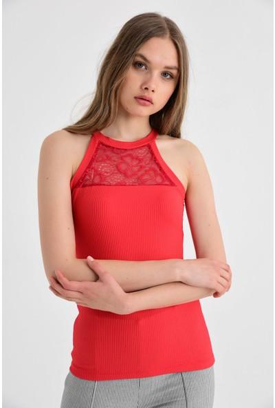 Jument Kadın 20014 Kırmızı Bluz