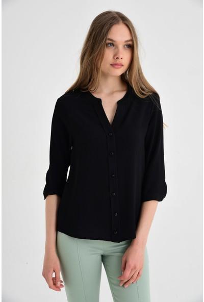 Jument Kadın 90000 Siyah Gömlek