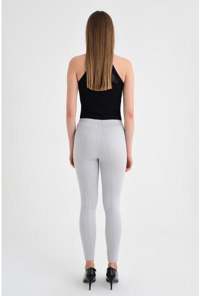 Jument Kadın 40004 Gri Pantolon