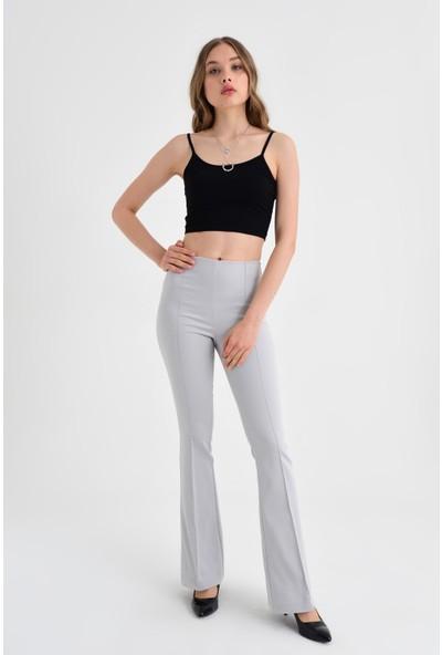 Jument Kadın 40005 Gri Pantolon