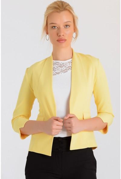 Jument Kadın 30004 Sarı Ceket