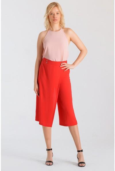 Jument Kadın 40007 Kırmızı Pantolon