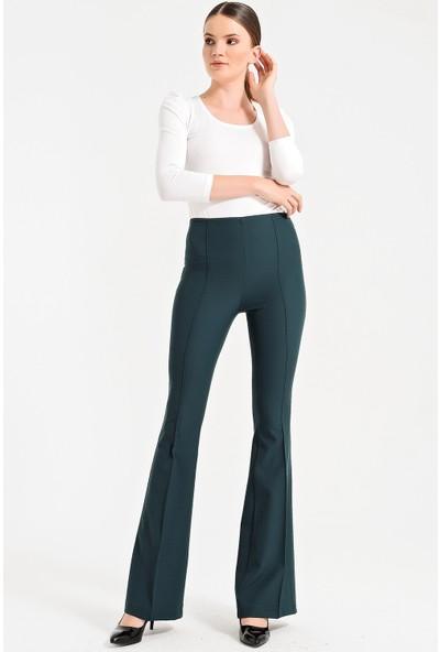 Jument Kadın 2412 K.Yeşil Pantolon