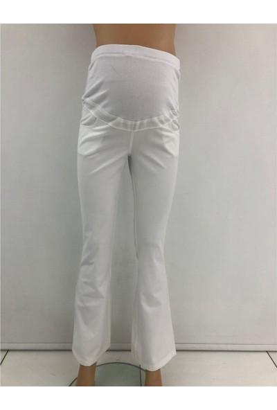 Sedef Cadde Hamile Kanvas Pantalon