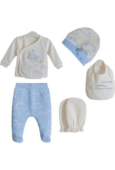 Caramell 5'li Bebek Hastane Çıkış Seti ZE4521