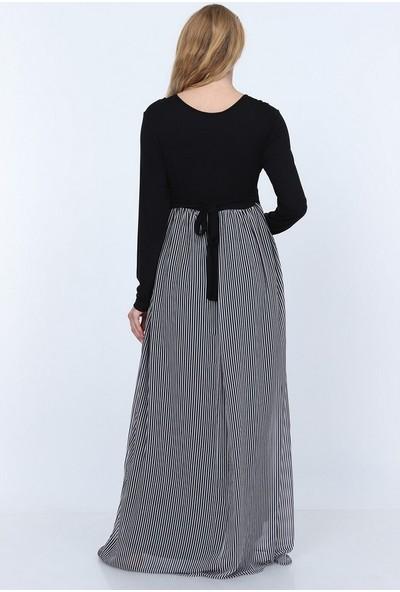 Görsin Penye Uzun Hamile Elbise