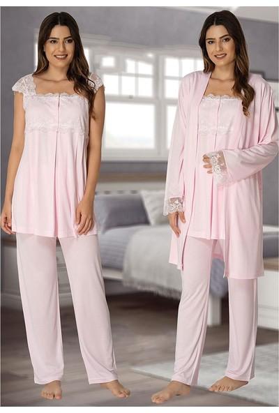 Effort Lohusa 3'lü Pijama Takım