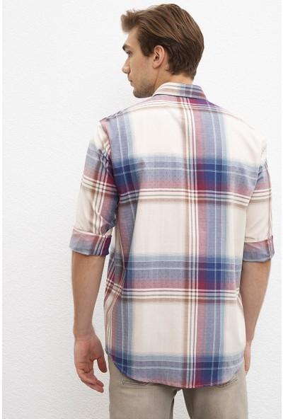 U.S. Polo Assn. Erkek Dokuma Gömlek 50207035-VR019