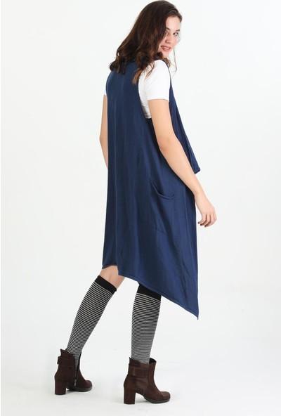 Pua Fashion Kadın Uzun Triko Hırka