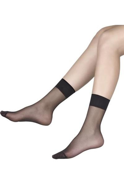 Saks Fit 15 Soket Çorap 12 Çift