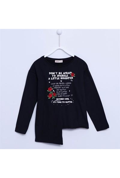 Silversun Kız Çocuk Uzun Kollu Sweatshirt - BK-312840