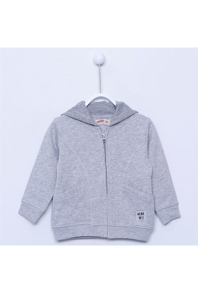 Silversun Erkek Bebek Kapşonlu Sweatshirt - JM-112900