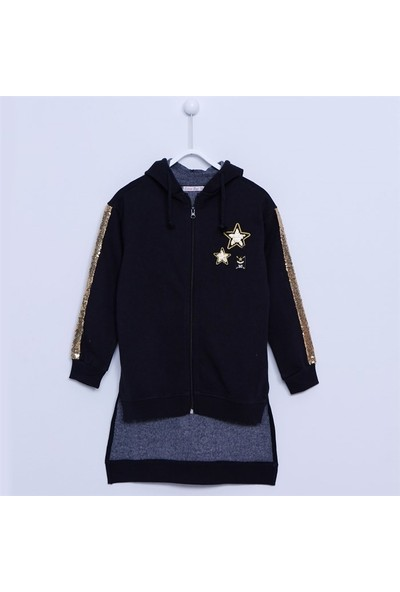 Silversun Kız Çocuk Kapşonlu Sweat Shirt - JM-312726