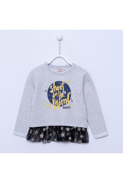 Silversun Kız Çocuk Sweat Shirt - JS-213045