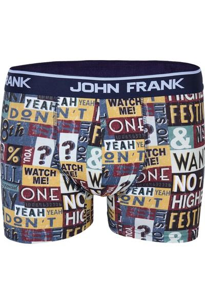 John Frank 8Th Boxer - Renkli