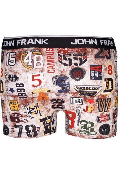 John Frank Boxer Erkek Boxer Jfbd208 Sport