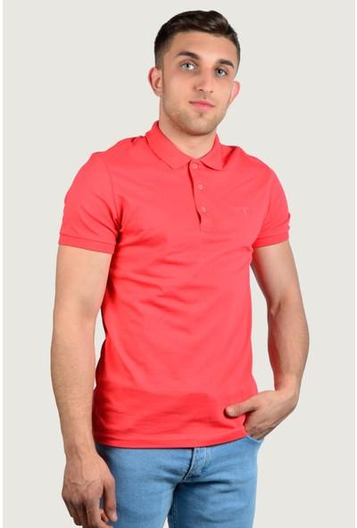 Terapi Men Erkek Polo Yaka T-Shirt 9Y-3400518-043 Nar Çiçeği