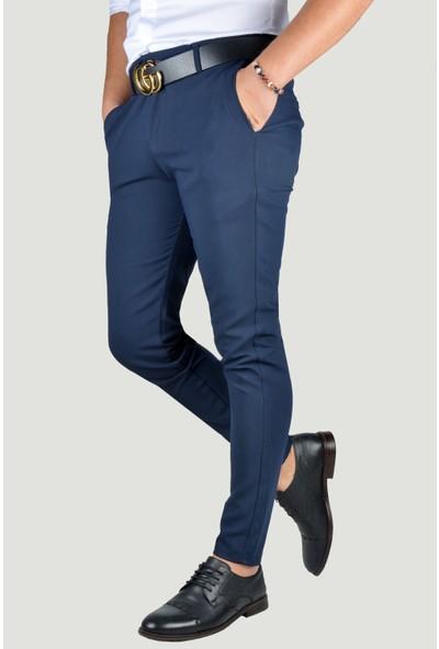 Terapi Men Erkek Keten Pantolon 9Y-2200192-055 Koyu Lacivert