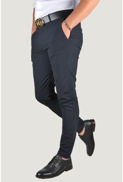 Terapi Men Erkek Keten Pantolon 9Y-2200196-008 Lacivert