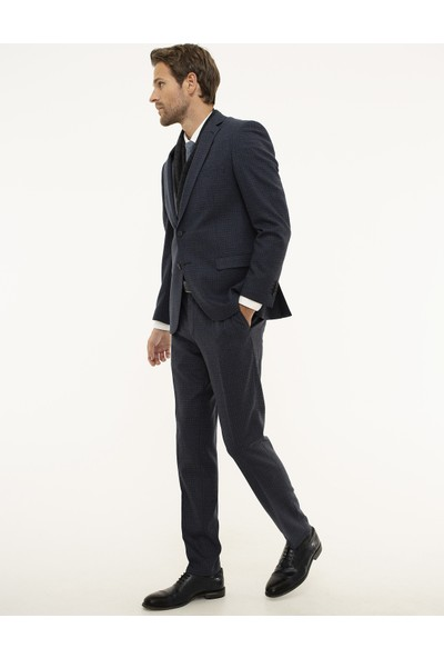 Pierre Cardin Lacivert Ekstra Slim Fit Takım Elbise 50208581-VR059