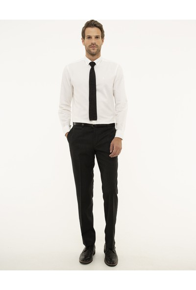 Pierre Cardin Füme Slim Fit Pantolon 50210656-VR058