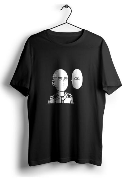 Anime Pazarı Saitama Ok Unisex Anime T-Shirt