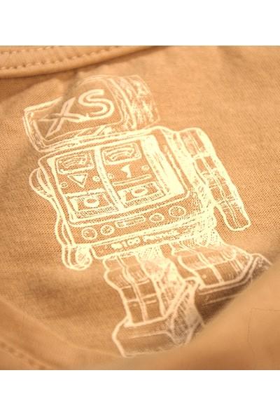 Kanduras Kıvırcık Oversize Crop T-Shirt