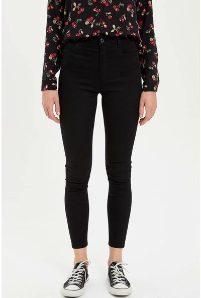 Defacto Kadın Anna Super Skinny Fit Pantolon