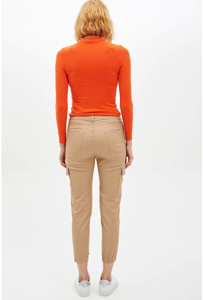 Defacto Kadın Slim Fit Jogger Pantolon