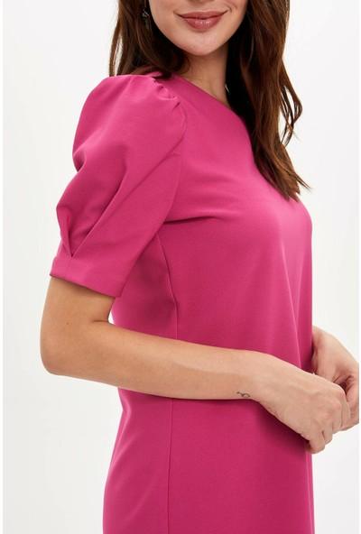 Defacto Kadın Kısa Kollu Elbise