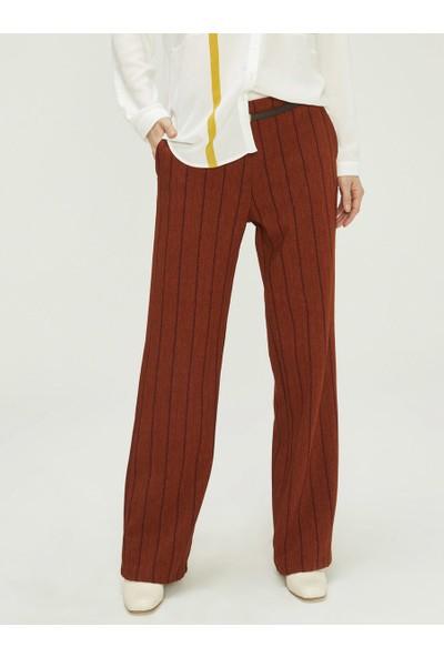 Xint Kadın Yüksek Bel Geniş Paça Pantolon
