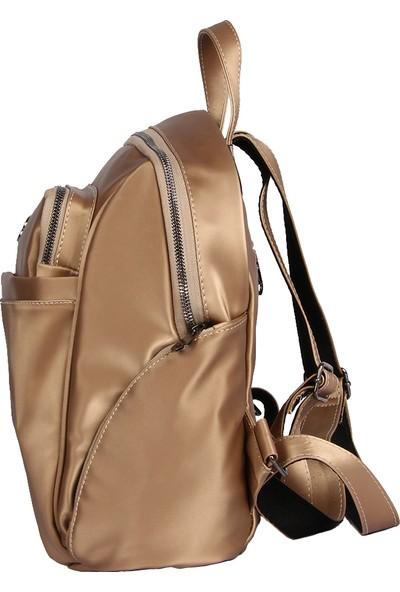 Harika Alışveriş H65 Gold El - Omuz ve Sırt Askılı Kadın Çanta