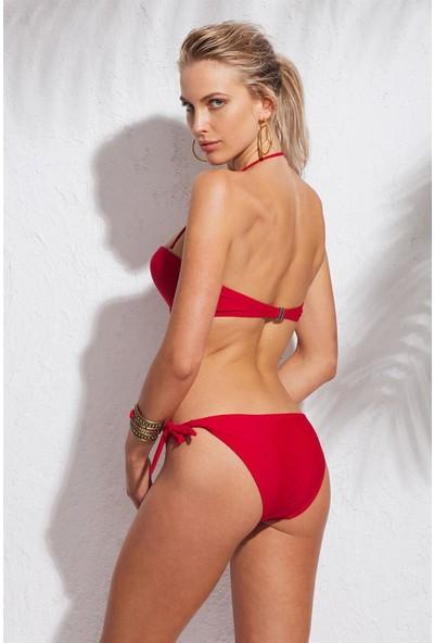 Marie Claire Kadın Dolgulu Kaplı Straplez Bikini