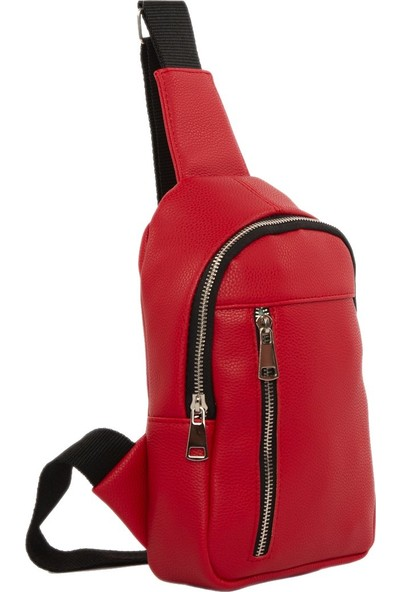 Bagmori Kırmızı Çapraz Mini Çanta